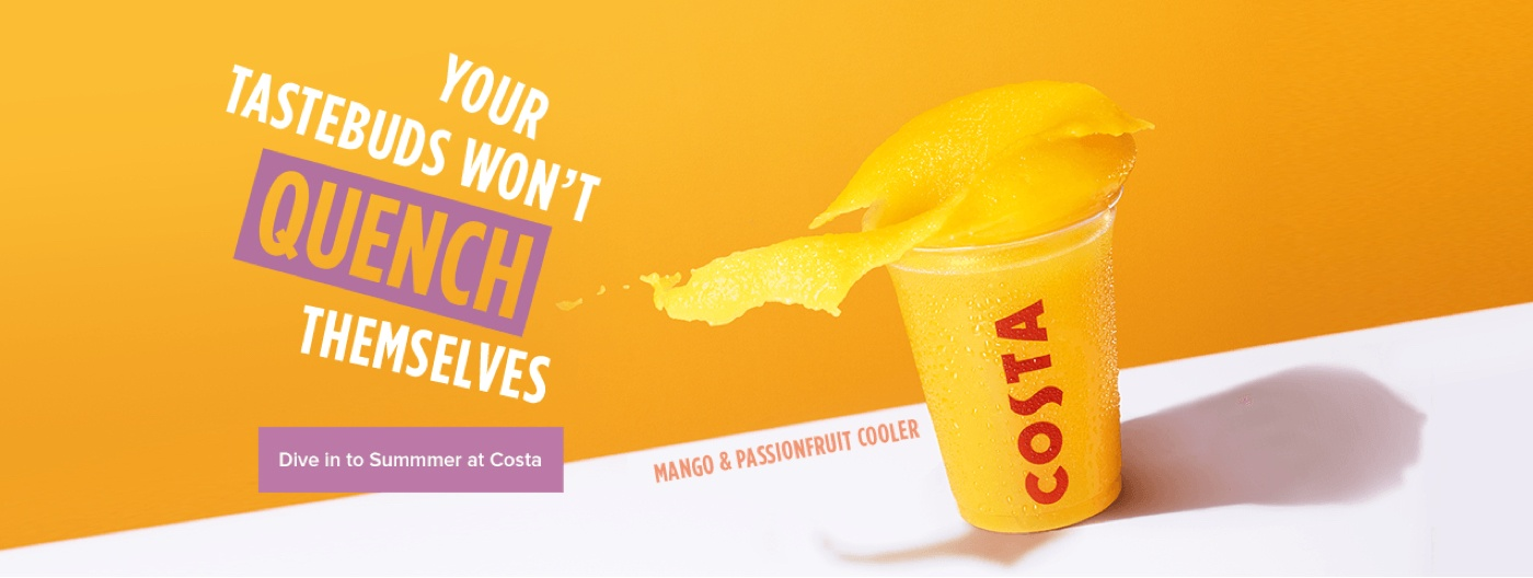 Costa Coffee Poster