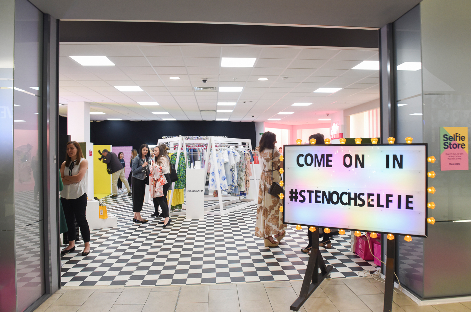 Blogger evening to Celebrate Selfie Store opening and Centre's 30th Birthday