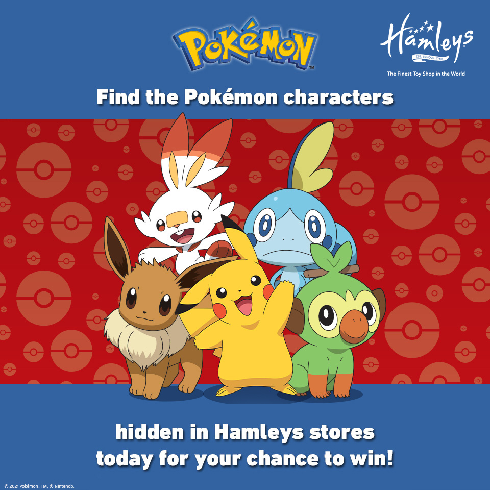 Pokémon Treasure Hunt at Hamleys