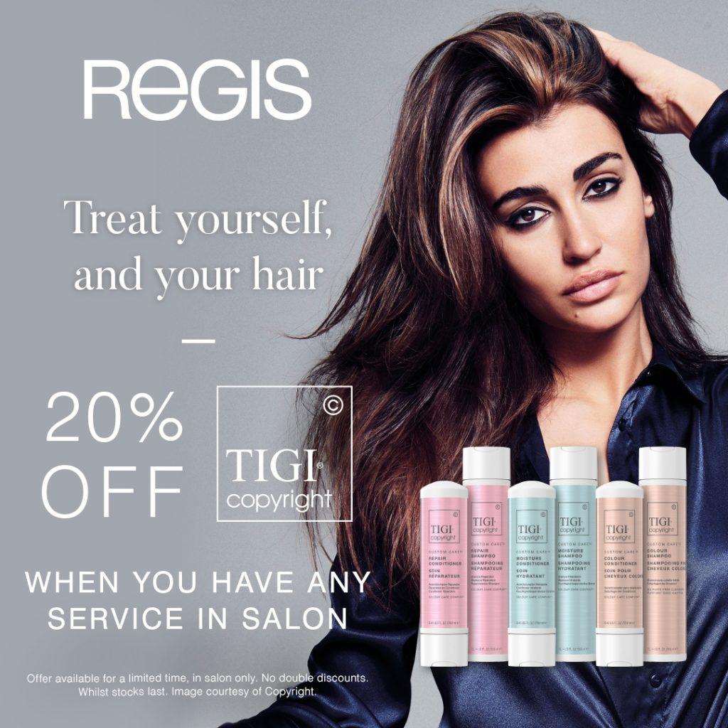 Regis Salon Offer