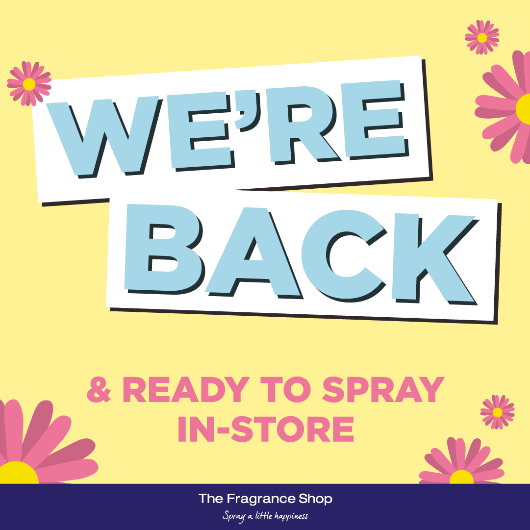 The Fragrance Shop is back!