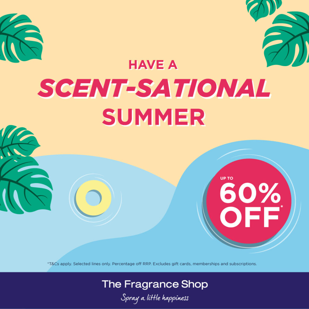 Free gift at The Fragrance Shop