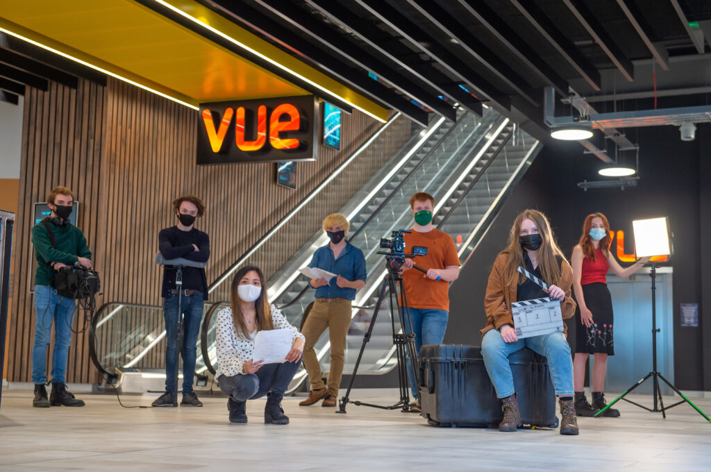 Glasgow film students to see work on the big screen at Vue