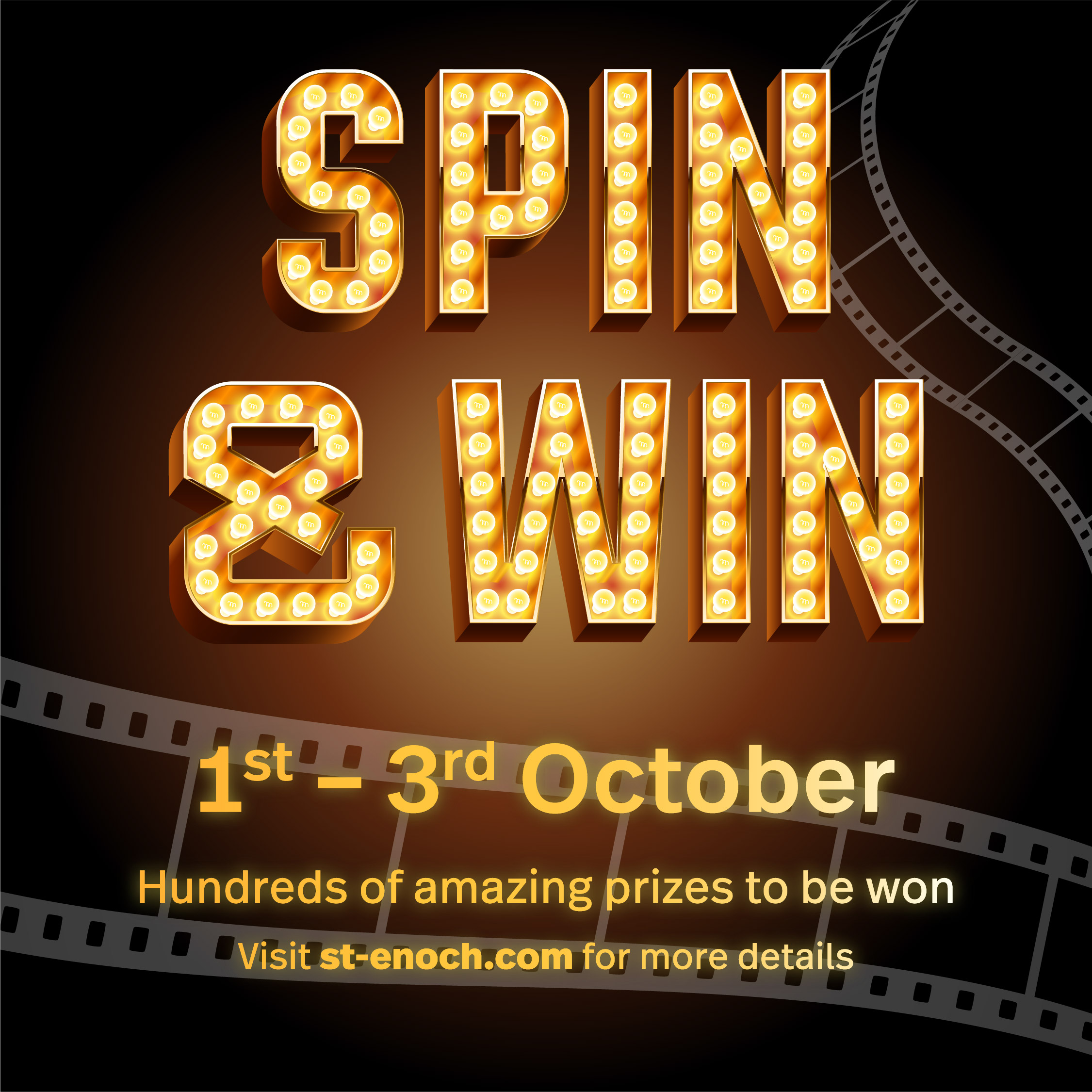 Spin & Win Weekend