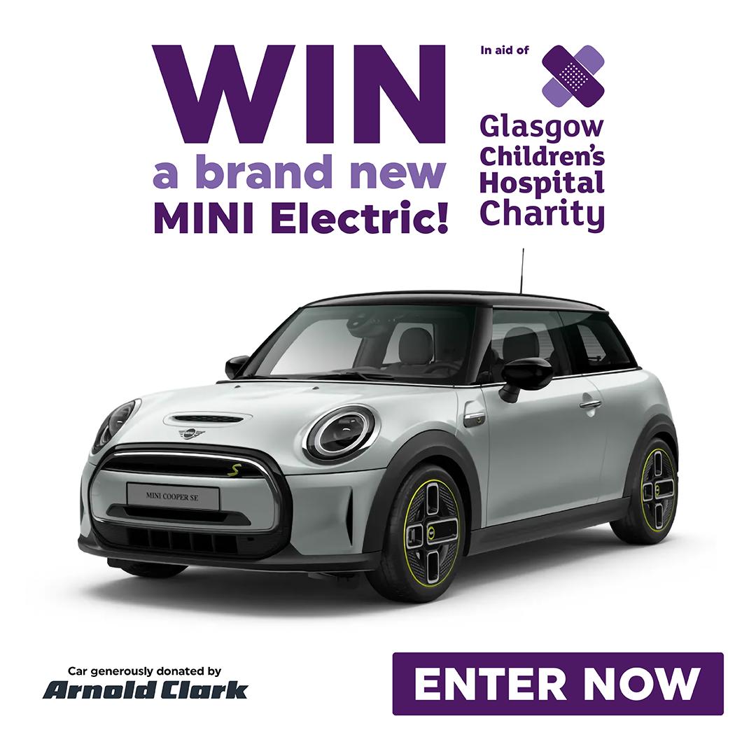 Enter Glasgow Children's Hospital Charity's Grand Prize Draw