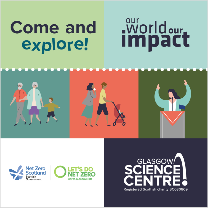 Glasgow Science Centre's Pop-Up – 9th to 17th October